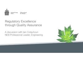 NEB Publishes White Paper on Quality Assurance of Pipeline Fittings