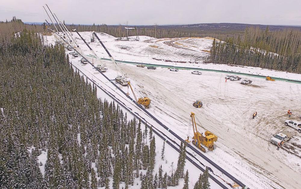 Alberta pipeline project