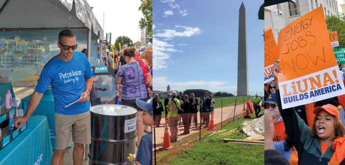 pipeline advocacy collage