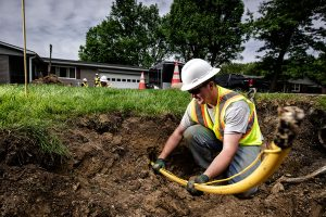 Miller Pipeline Gas Line Work
