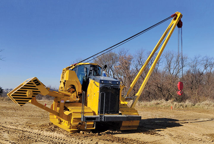 Midwestern M100C Sideboom Attachment