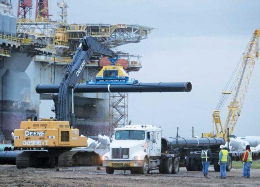 American Pipe Handlers Crunch Numbers on Heavy Duty Vacuum Lifting