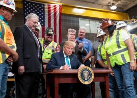 Trump Executive Orders Aid Pipeline Development