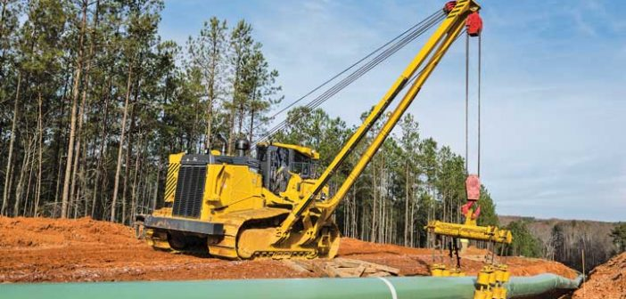 John Deere 1050K Pipelayer-Ready Dozer