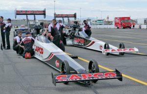 CAPCO Contractors Inc. race cars