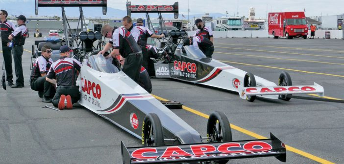 CAPCO Contractors Inc. race cars
