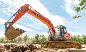 Doosan DX235LCR-5 Excavator