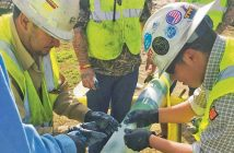 hands on pipeline repair