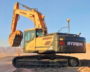 Hyundai HX300L Crawler Excavator