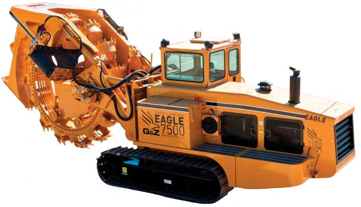 Eagle 7500 Wheel Trencher