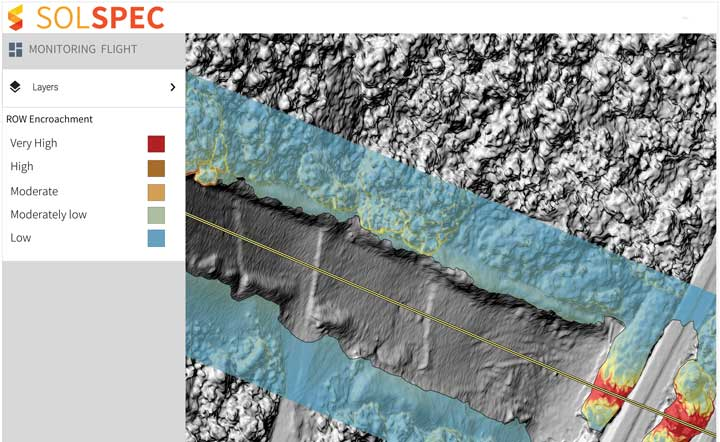 Ultra-high-resolution models based on data collected from UAVs