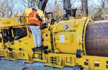 Michael Byrne Mfg. auger boring machine