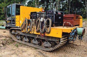 Terramac RT9 Crawler Carrier with Weld Deck