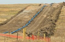 pipeline jobsite photo