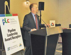 Pipeline Leadership Award winner Shawn Lyon