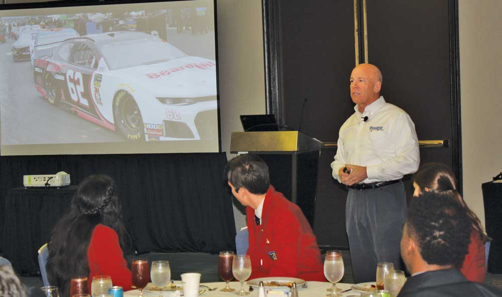 """Karl Schwartz discusses """"Building a Business and NASCAR Team"""""""