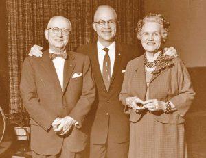 T.D. Williamson Sr., T.D. Williamson Jr. and Edna Mae Williamson
