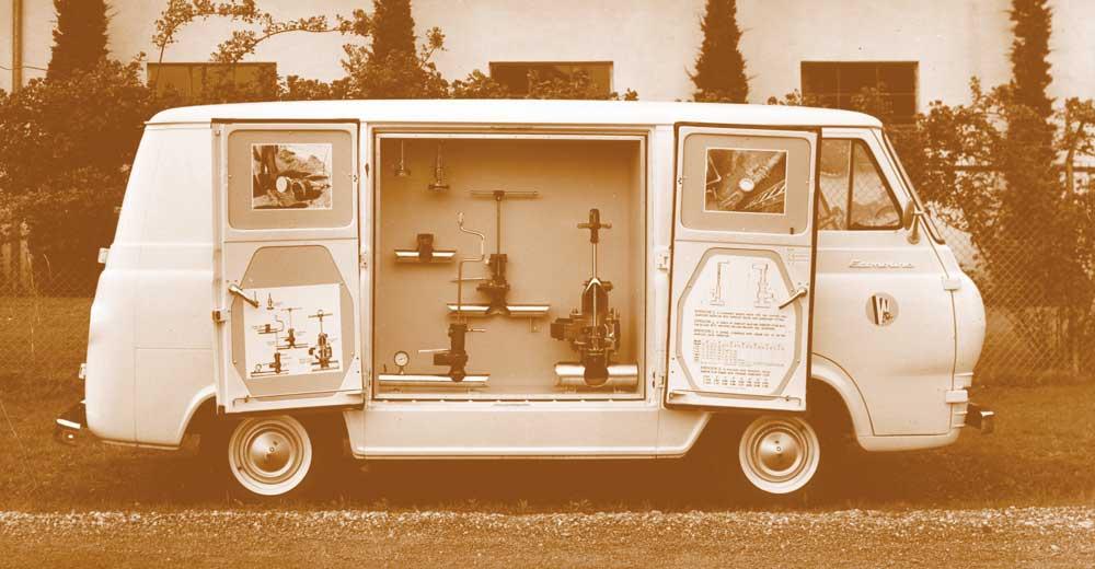 A 1960s TDW demonstration van.
