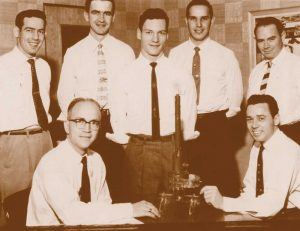 The TDW team in 1956