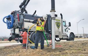 The current trend in vacuum excavators is for smaller but powerful equipment