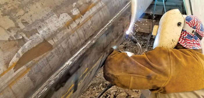 sleeve welding