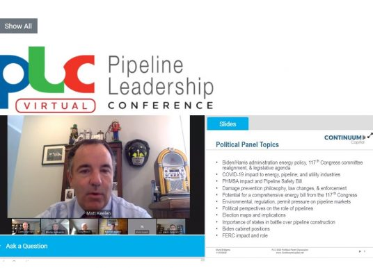 Virtual Pipeline Leadership Conference Explores Future of Industry