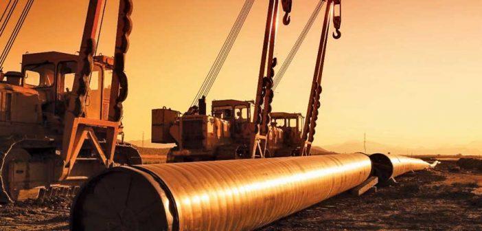 pipeline job site
