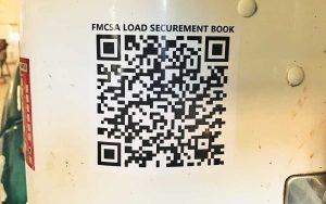QR codes throughout Henkels & McCoy's fleet