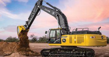 John Deere SmartGrade excavator