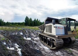 Prinoth Launches Next Generation Panther T14R Rotating Dumper