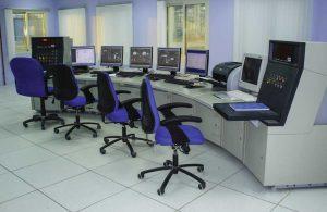 empty control room