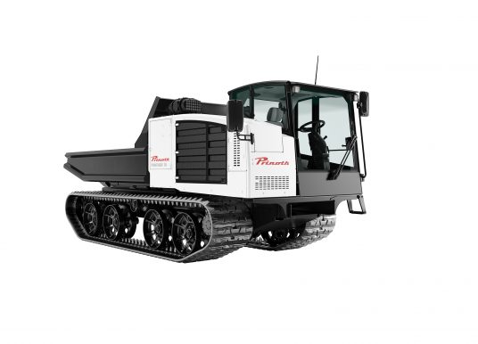 PRINOTH Unveils Next Generation PANTHER Lineup with T6, T8 and T12 Models